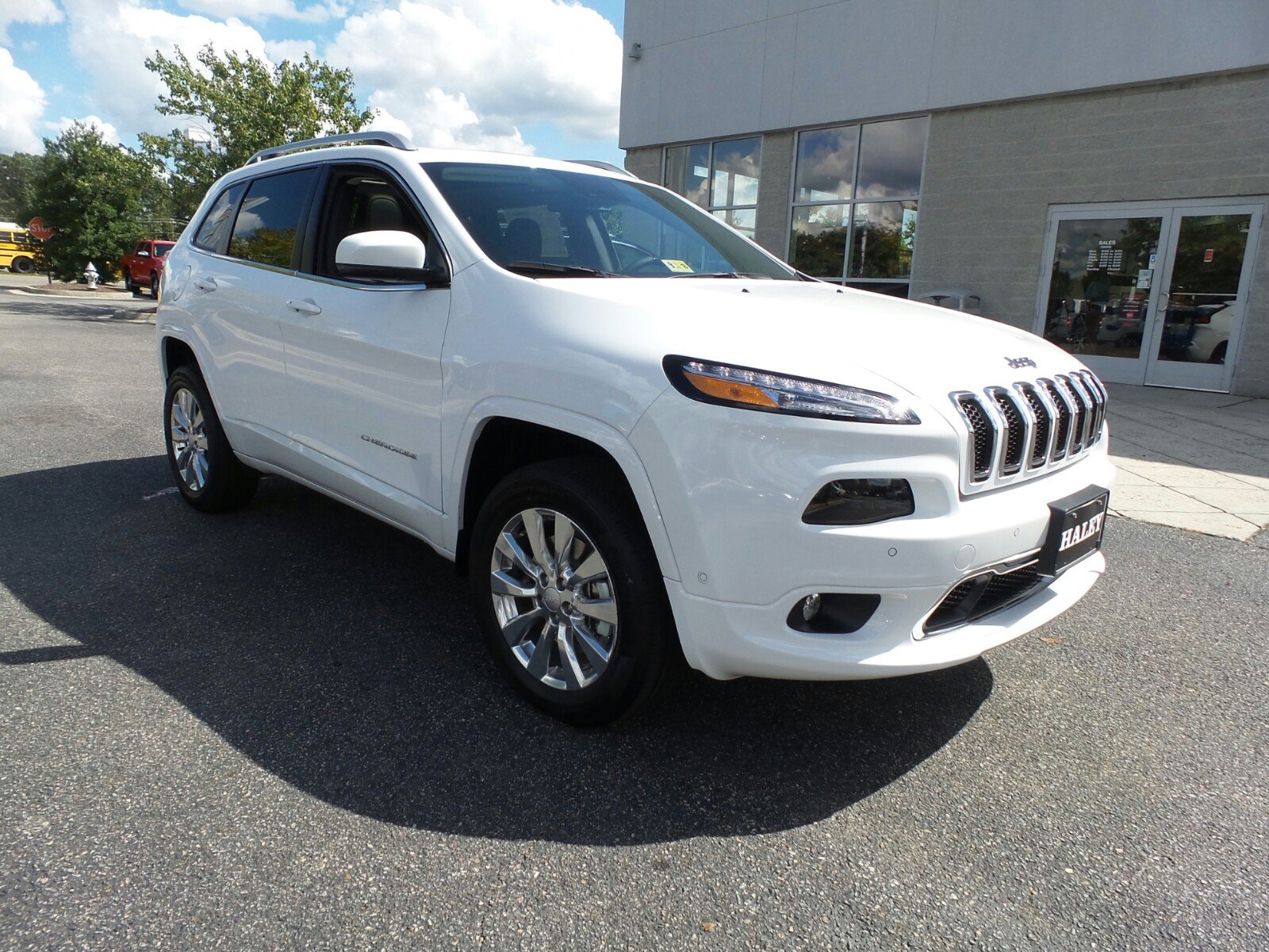 New 2018 JEEP Cherokee Overland Sport Utility in Richmond #D515238