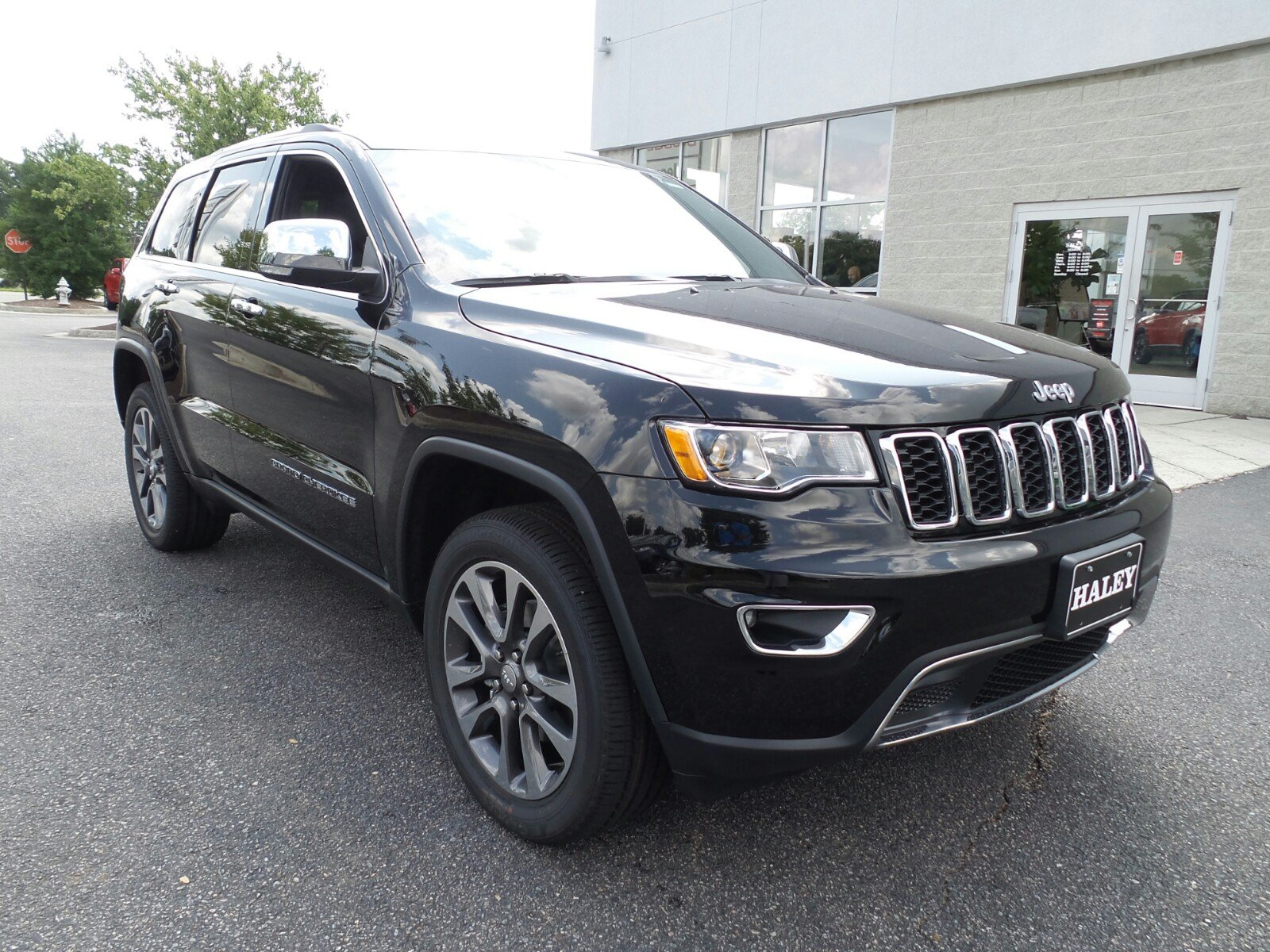 New 2018 JEEP Grand Cherokee Sterling Edition Sport Utility in Richmond #C113432 | Haley ...