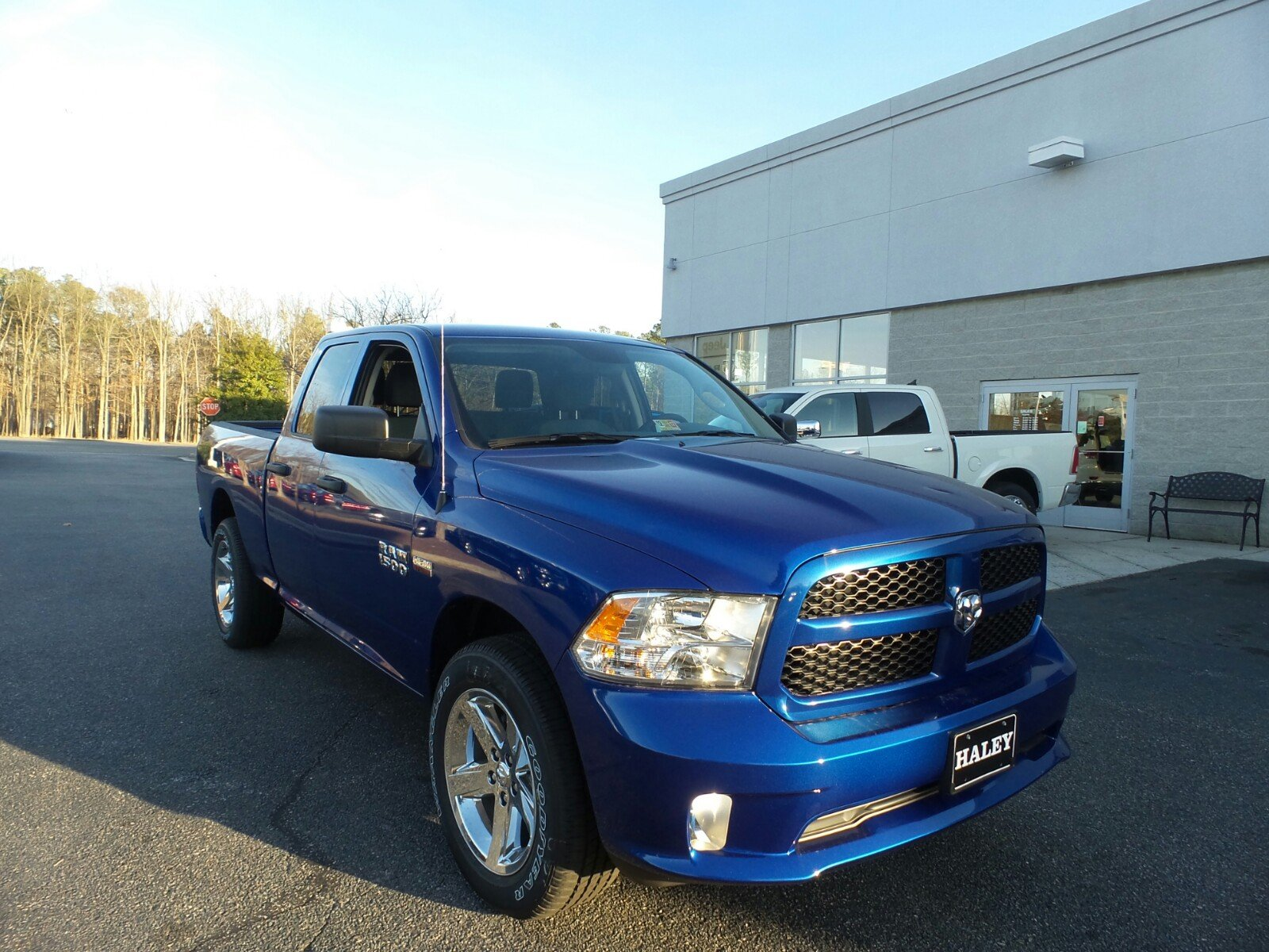 new 2017 ram 1500 express quad cab in richmond s618747 haley chrysler dodge jeep ram. Black Bedroom Furniture Sets. Home Design Ideas