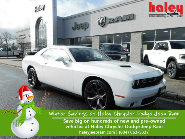 Pre Owned 2018 Dodge Challenger Sxt Coupe In Richmond J1442 Haley