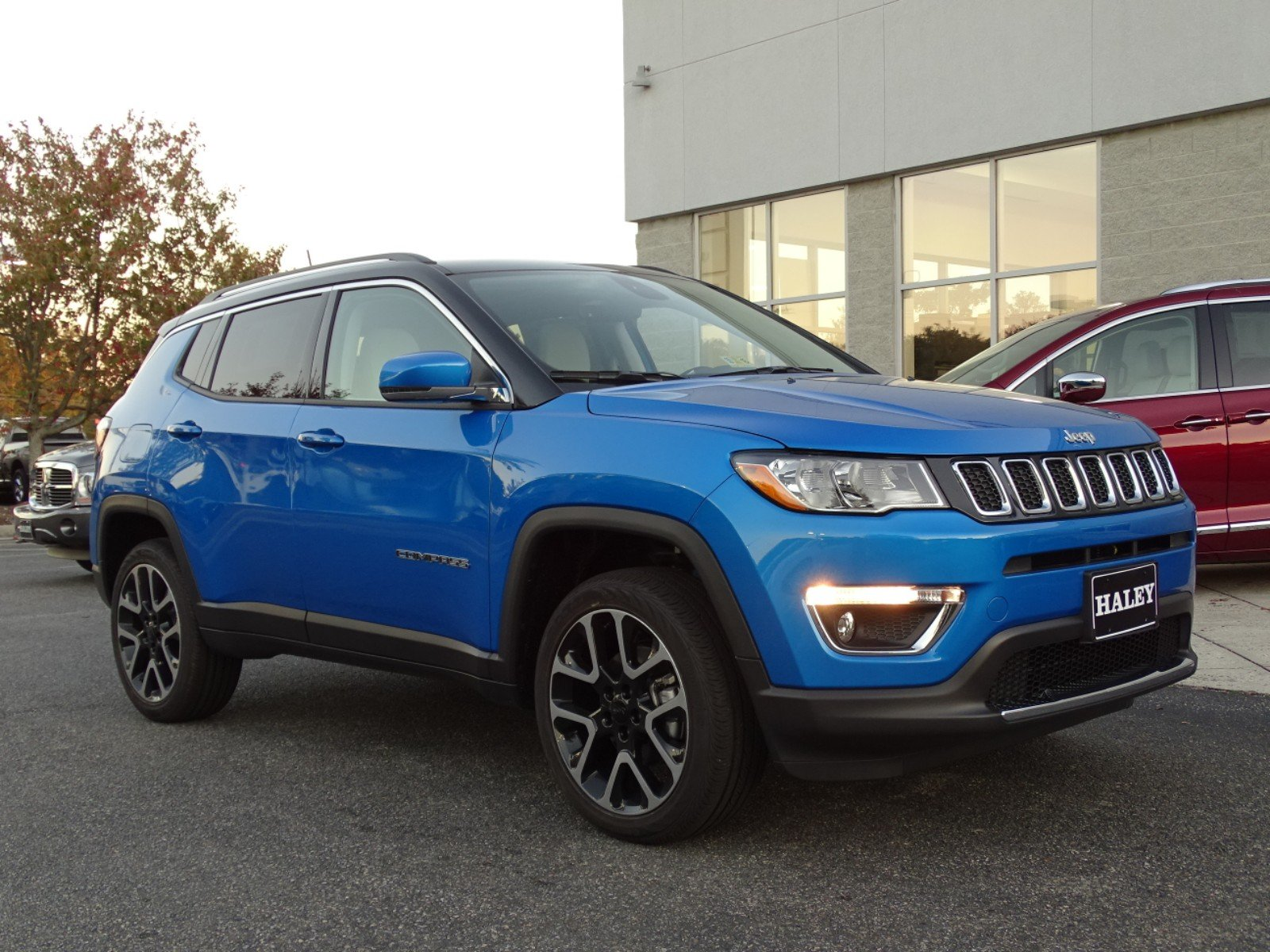 New 2018 JEEP Comp Limited Sport Utility in Richmond #T178144 ...
