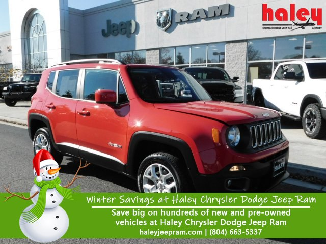 Pre Owned 2018 Jeep Renegade Latitude Suv In Richmond H311488a