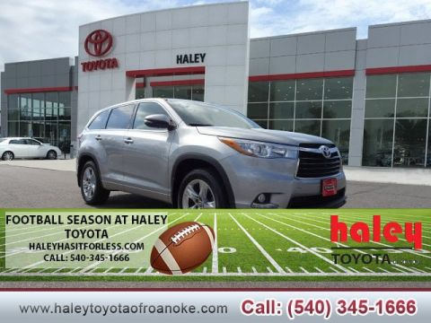 Pre Owned 2016 Toyota Highlander Limited V6